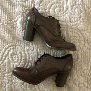 Tommy Hilfiger Leather Ankle Booties
